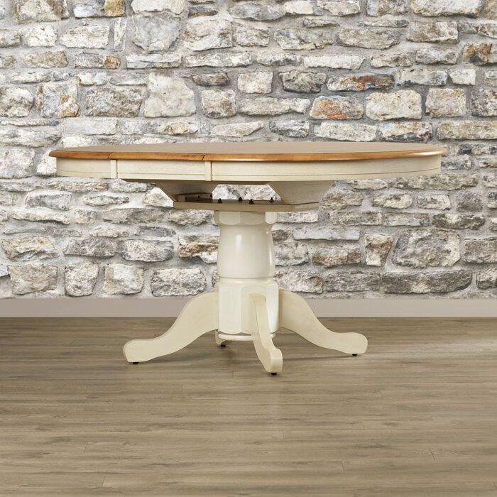 Florentia Extendable Dining Table Beachcrest Home Florentia