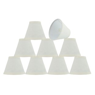 6'' Linen Empire Lamp Shade (Set of 9)