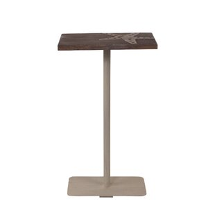 Iseminger Starfish Accent Wood Top End Table by Highland Dunes