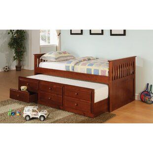 Smotherman Twin Daybed with Trundle by Darby Home Co