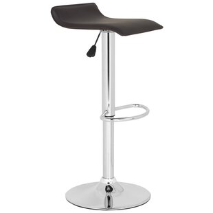 Reatha Adjustable Height Swivel Bar Stool..