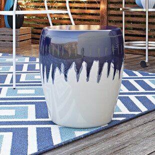 Wrought Studio Hennis Ceramic Garden Stool