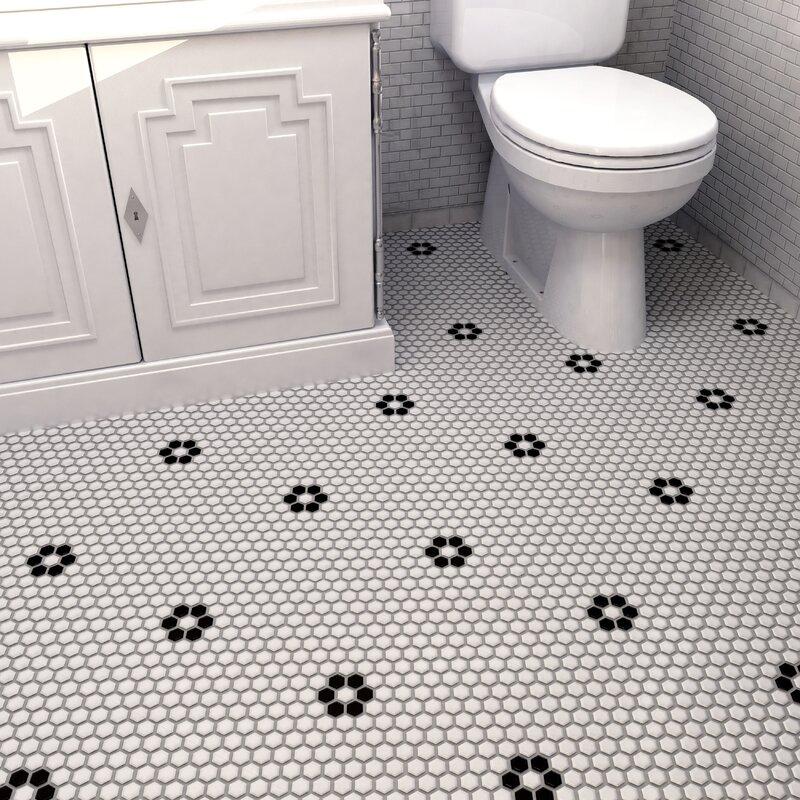 Retro 0 88 X Porcelain Mosaic Tile