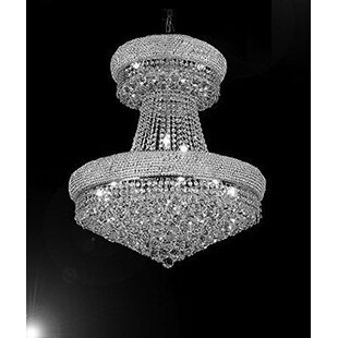 Bautista 24-Light Chandelier by Rosdorf Park