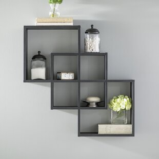 Odum 3 Intersecting Decorative Accent Shelf by Zipcode Design Cool