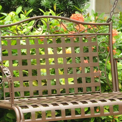 Saundra Iron Porch Swing