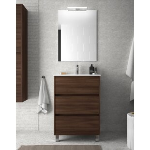 Louise 610mm Free-standing Single Vanity Unit By Belfry Bathroom
