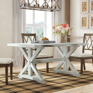 Pinon 63 Aluminum Dining Table by Gracie Oaks Modern