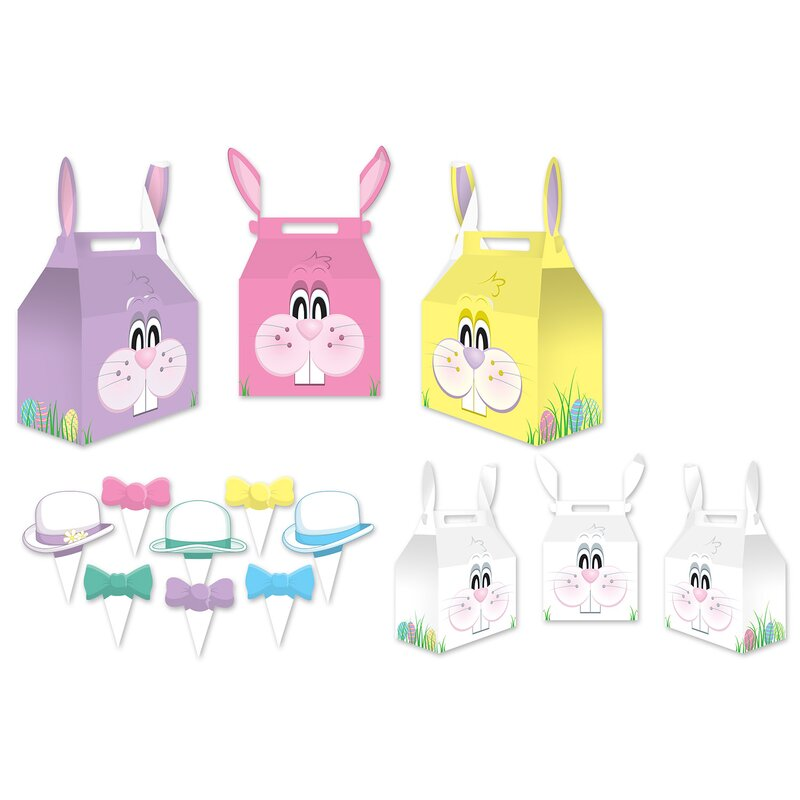 Marco Bunny Favor Box 3 Piece Decorative Box