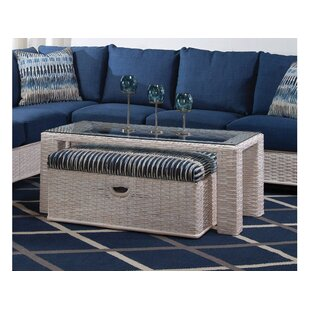 Bali Coffee Table with Bench Braxton Culler