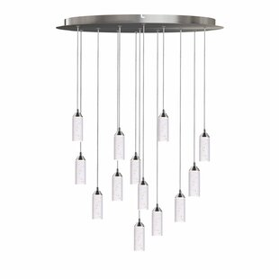 Ardrie 13-Light LED Cluster Pendant by Wrought Studio