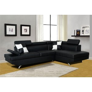 Orren Ellis Brisson Reclining Sectional Image