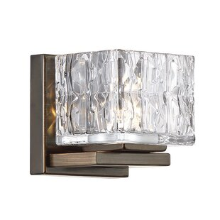 Mcelroy 1-Light LED Bath Sconce by House of Hampton