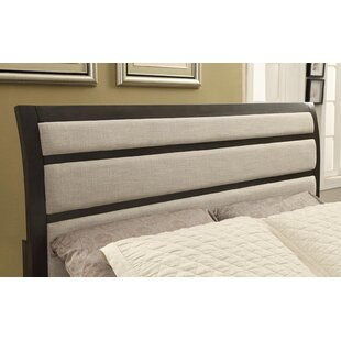 Alona Transitional Upholstered Panel Headboard by Latitude Run
