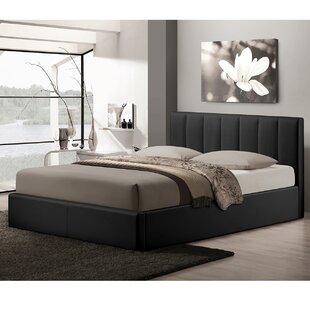 Orren Ellis Utley Queen Upholstered Storage Platform Bed