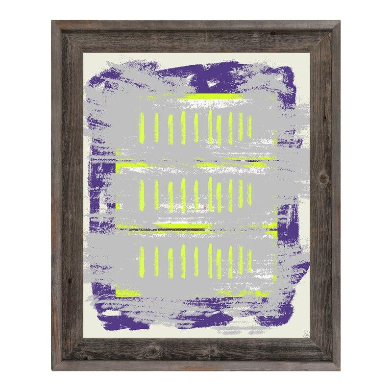 Click Wall Art Tally Marks Framed Painting Print On Canvas Wayfair