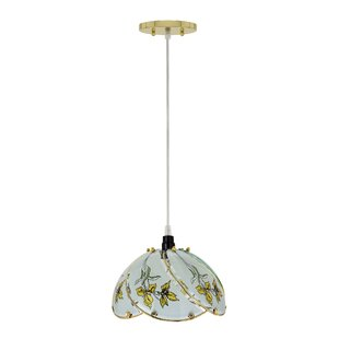 Darby Home Co Haider 1-Light Dome Pendant