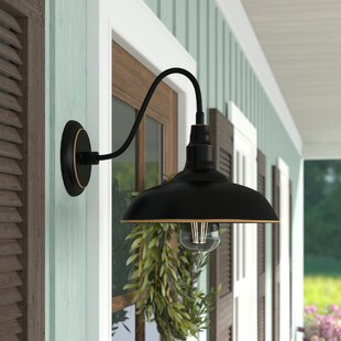 Gracie Oaks Rockingham LED Outdoor Barn Light