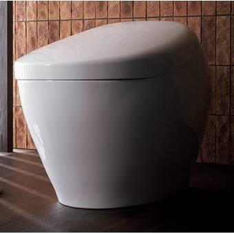 Toto Dual-Flush Elongated with Washlet Bidet Seat and