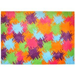 LifeStyle-Mat Pop Up Orange/Blue/Purple Rug by Pedrini
