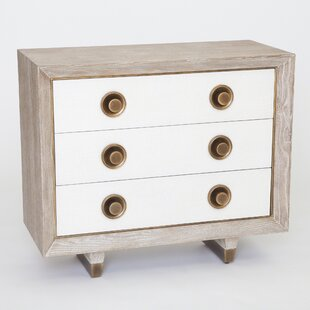 Geneva 3 Drawer Accent Chest by Studio A Home
