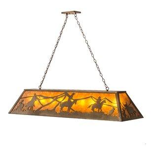 Meyda Tiffany Rustlers 9-Light Pendant