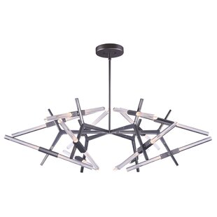 Orren Ellis Lepus 24-Light Sputnik Chandelier