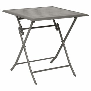 Telemanus Folding Aluminium Bistro Table By Sol 72 Outdoor