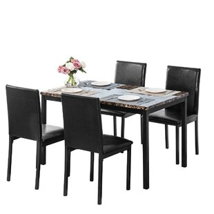 Kendell 5  Piece Dining Set by Red Barrel Studio