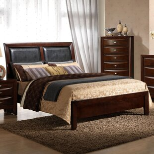 Alidge Upholstered Panel Bed by Grovelane Teen