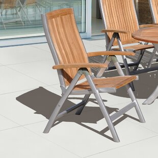 Aguinaldo Folding Teak Patio Dining Chair by Ivy Bronx 2019 Coupon