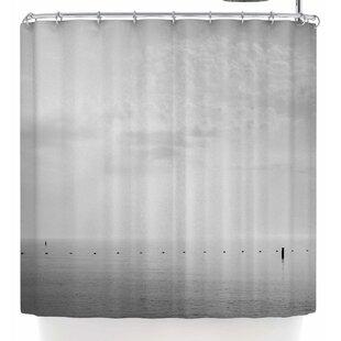 Mary Carol Fitzgerald Cali Calm Single Shower Curtain