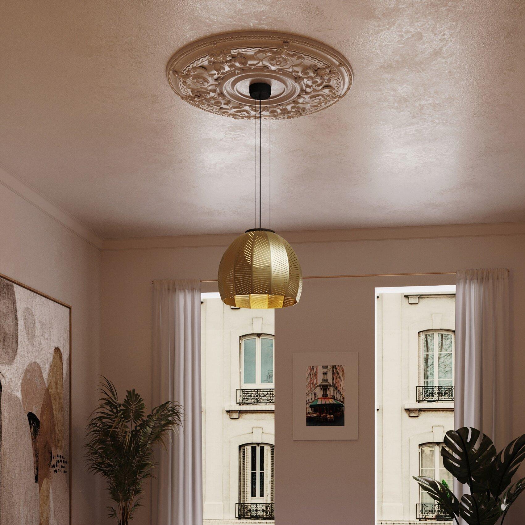 Cerno Amicus 1 Light Single Dome Pendant Perigold