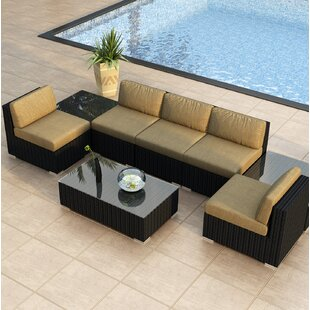 Harmonia Living Urbana 8 Piece Sectional Set with Cushions