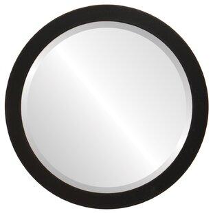 George Oliver Barden Framed Round Accent Mirror