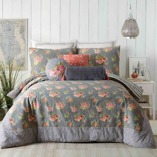 Marteen 3 Piece Reversible Comforter Set