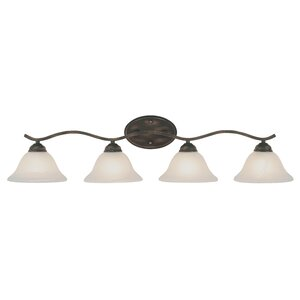Eureka 4-Light Vanity Light