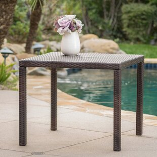 Diamond Outdoor Wicker Bistro Table