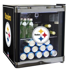 NFL 1.8 cu. ft. Beverage center  sc 1 st  Wayfair & Pittsburgh Steelers Youu0027ll Love | Wayfair islam-shia.org