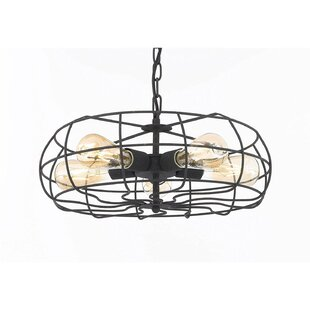 17 Stories Ashford 5-Light Drum Pendant