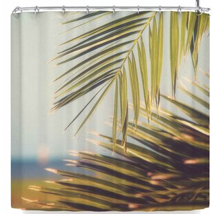 Ann Barnes Island Time Single Shower Curtain