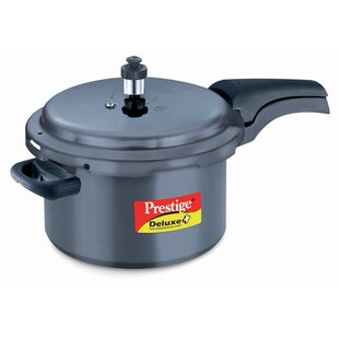 Deluxe Hard Anodized Pressure Cooker by Prestige Cookers Today Only Sale