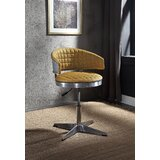Helle Swivel Adjustable Bar Stool by 17 Stories