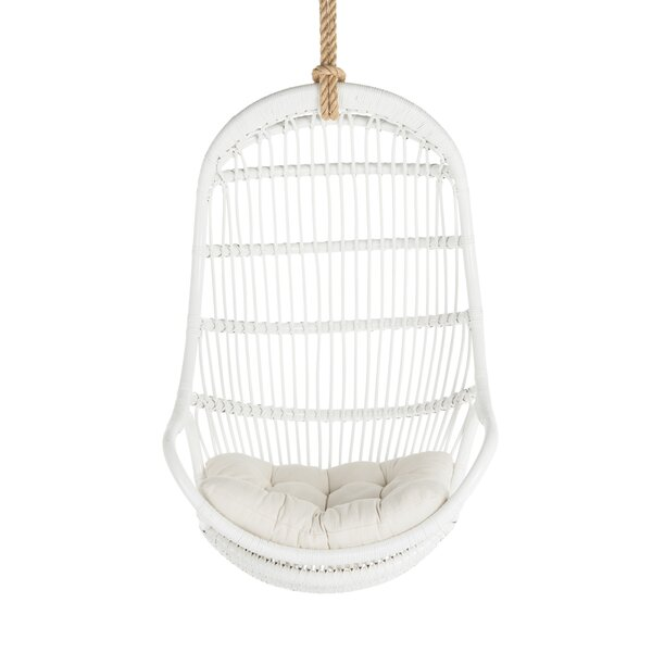 Ordinaire Hanging Rattan Chair | Wayfair