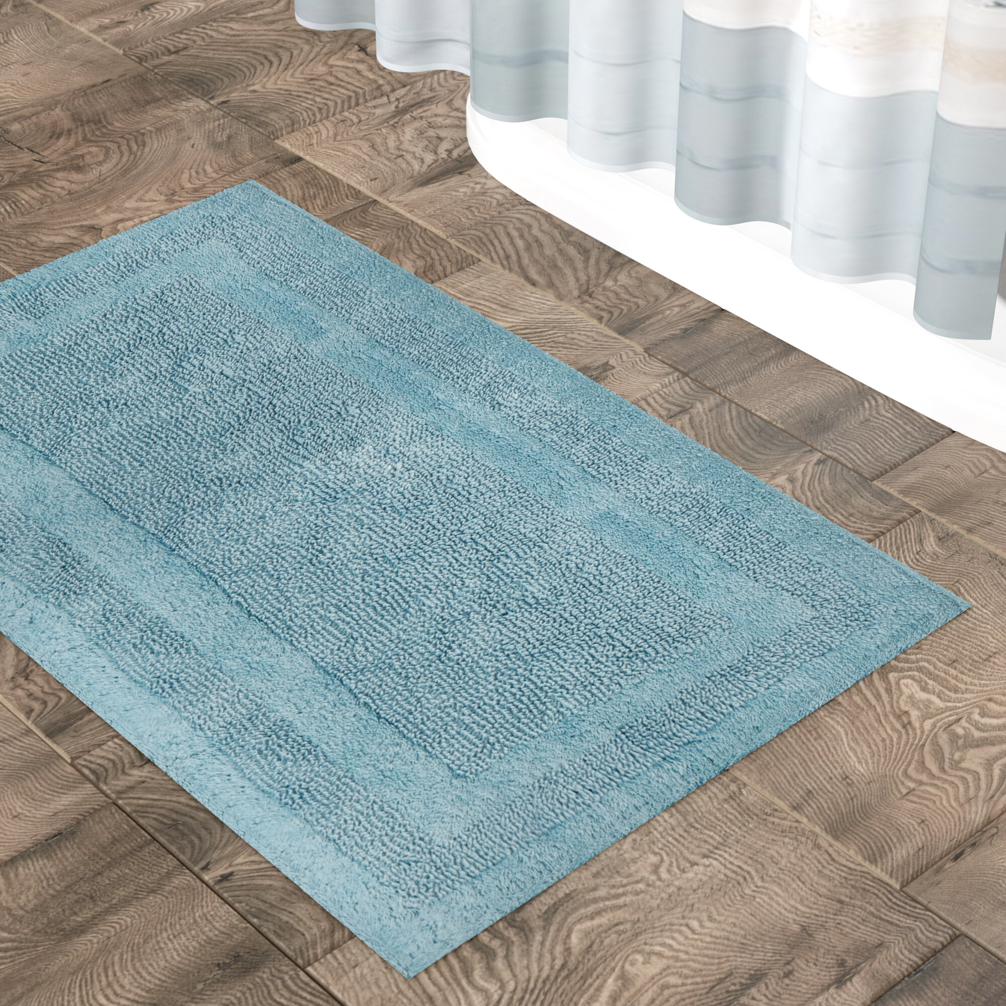 The Twillery Co. Clarke Bath Mat & Reviews | Wayfair