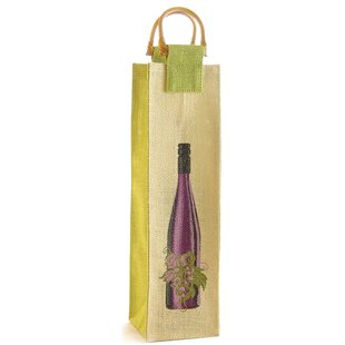 Wine and Vine Single Bottle Carrier