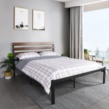 Carcassonne Platform Bed by 17 Stories