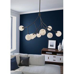 Brayden Studio Usher 9-Light Shaded Chandelier
