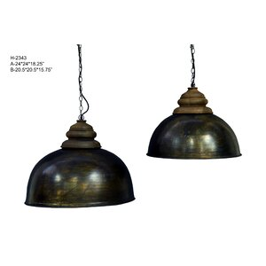 Pirro 1-Light Inverted Pendant