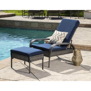 Lisette Patio Chair With Cushion By Wade Logan